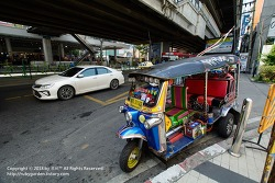 태국 치앙마이 여행 /  툭툭, 썽태우, 오토바이, 우버택시, 버스......태국의 교통수단들