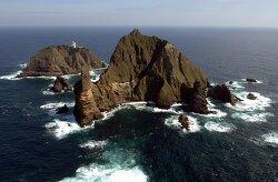 독도 한일 어선 충돌 13명 구조 일본반응