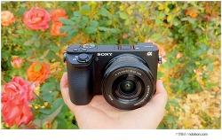 소니 미러리스카메라, 최고의 휴대성과 성능을 갖춘 A6500
