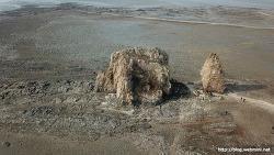 [드론]드론으로 촬영한 제부도 매바위