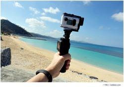 오키나와 스노클링 마에다플랫 해변, 소니 액션캠 FDR-X3000