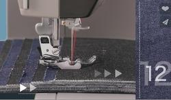 [호주] 청바지, 가죽재봉을 위한 Toyota Power Fabriq 17 재봉틀