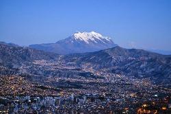 볼리비아 라파즈-지구에서 가장 높은 수도