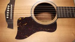 기타에 픽가드를 잘 붙이는 방법