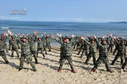 신병 1238기 3교육대 5주차 - 상륙기습 기초훈련