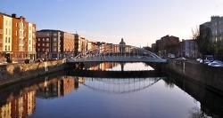 아일랜드, 더블린Dublin 1일 여행 경비 계산, 날씨[유럽 배낭여행 비용]