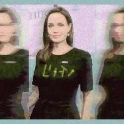 [자작그림] Angelina Jolie (안젤리나 졸리) - 사진 편집 (Photo Editing)