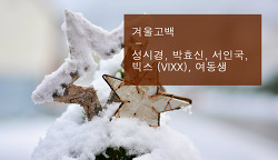 [music REVIEW] 성시경 - 겨울고백