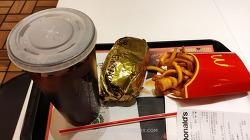 맥도날드 콜라 커피로 바꿀때 호구 안되는법 그리고 행운버거