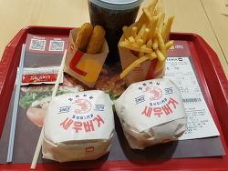 롯데리아 메뉴와 가격 착한점심 런치버거 총정리