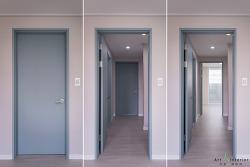 부천 상동 진달래마을 대우 푸르지오 아파트 침실 드레스룸 인테리어(185㎡)