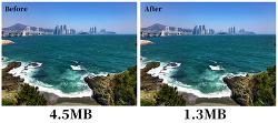 이미지 압축을 손쉽게, 이미지 파일 크기를 줄여주는 온.오프라인 서비스 Shrink Me