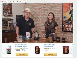 아마존의  온라인 개인 홈쇼핑 서비스 아마존 라이브 서비스 시작
