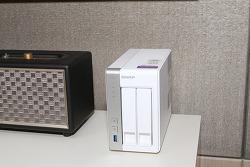 큐냅 TS-231P NAS 설치 및 포트 트렁킹 다중 USB 포트
