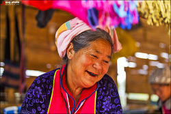 [태국 치앙마이] 미얀마와 국경을 마주하고 있는 도이앙캉(Doi Ang Khang)에서 만난 몽족 /