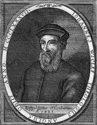 존 위클리프(John Wycliff, 1324~1384), 종교개혁인물