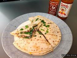 간식으로 인기만점 멕시코 요리 케사디야 만들기