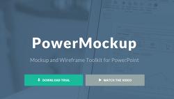 [팁] 기획자 필수품! 파워목업(PowerMockup)정식 라이선스 무료로 받기!