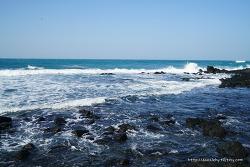 제주도 애월 해안도로 산책로 바다풍경과 간단한 식사