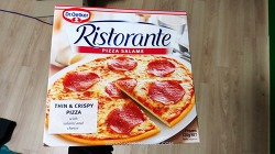 리스토란테 살라미 피자
