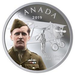 캐나다 왕립 조폐국, 전설적인 인물 빌리 비숍(Billy Bishop)을 기리는 은화 소개하며 2월 콜렉션을 시작