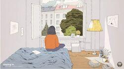 [유튜브채널] 혼자 방에서 은둔하고 싶을 때 회복음악
