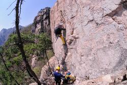 속리산 산수유릿지 등반 II