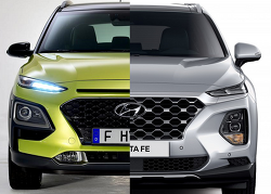 현대차 SUV 패밀리에 불어온 새로운 디자인 코드 : 컴포지트 램프