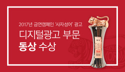 <2018 대한민국광고대상> 디지털광고 부분 동상 수상