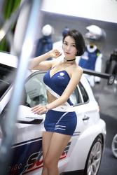 2018 오토살롱 레이싱 모델 박하
