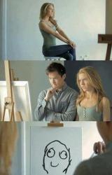 짤 움짤 GIF 이미지 - 널 보고 그린 그림이야 어때?
