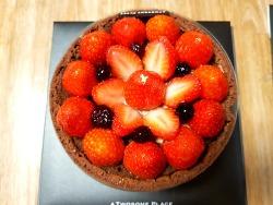 투썸 스트로베리 초콜릿생크림 케이크