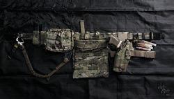 [Tactical belt] Ronin Tactics - Task Force (TF) Belt 75th Ranger setup.