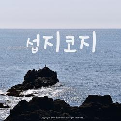 [2박3일 제주여행]섭지코지, 설레는 해안절경
