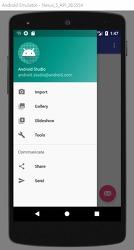 [Android] 네비게이션 드로어(Navigation Drawer) 사용법
