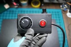 [DIY] AC 모터, 계양 핸드 그라인더 속도조절기 만들기 (업그레이드), 2,000W PWM 디머(조광기) + 돼지코 + 아답터케이스