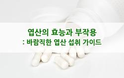 엽산의 효능과 부작용 : 바람직한 엽산의 섭취 가이드