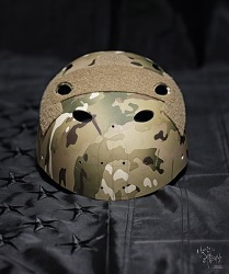 [Helmet] OPS-CORE FAST carbon 4-holl drill work..