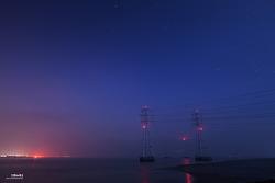 시화호 철탑