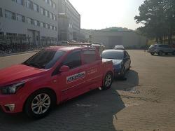 더 뉴 아반떼 타이어 찢어짐 + 타이어뱅크 타이어 교체(호갱ㅠㅠ)