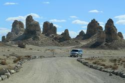 스타트렉과 혹성탈출 영화가 촬영된 데스밸리 서쪽 트로나 피너클스(Trona Pinnacles) 국가자연명소