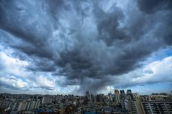 서울하늘 날씨 미세먼지를 없애주는 자연의 정화작용 바람과 태양과 구름