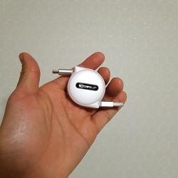 CAFELE USB-C 고속충전 릴 케이블(CR-201)