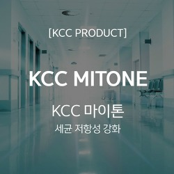 우수한 항균성으로 쾌적한 공간을 완성하는 KCC MITONE