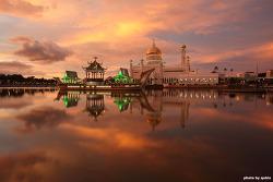 [브루나이 여행] 브루나이의 상징, 오마르 알리 사이푸딘 모스크 (Omar Ali Saifuddin Mosque)