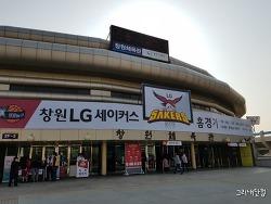 창원실내체육관, KBL LG vs 전자랜드 (19.03.16)