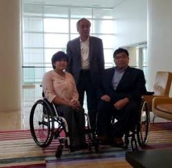 워싱턴 재미대한장애인체육회, 첫 해외지부 발족식