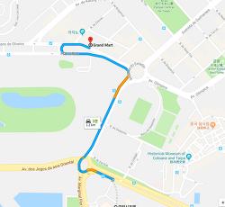 마카오 코타이 갤럭시호텔 근처 대형 마트 그랜드마트