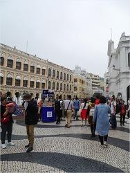 Hong Kong #4 -마카오 세나도 광장