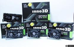 게이밍을 위한 그래픽카드, 지포스 Inno3D 그래픽카드 4종